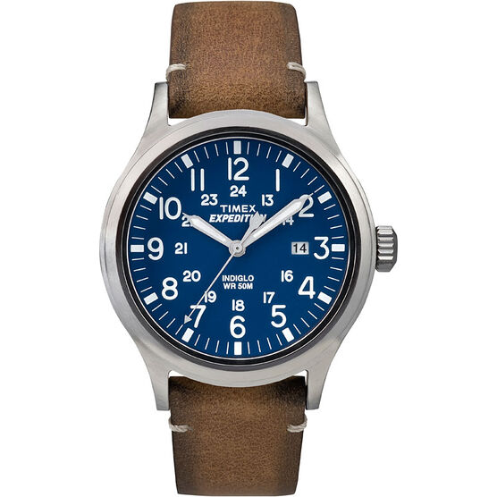 Timex Expedition Watch - Tan/Blue - TW4B01800GP