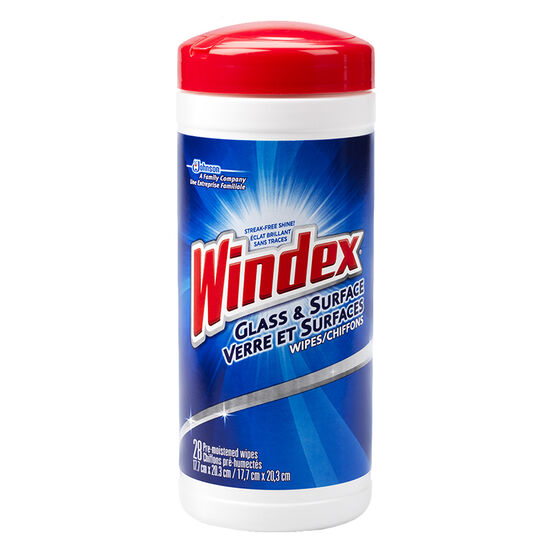 Windex Glass & Surface Wipes - 28's