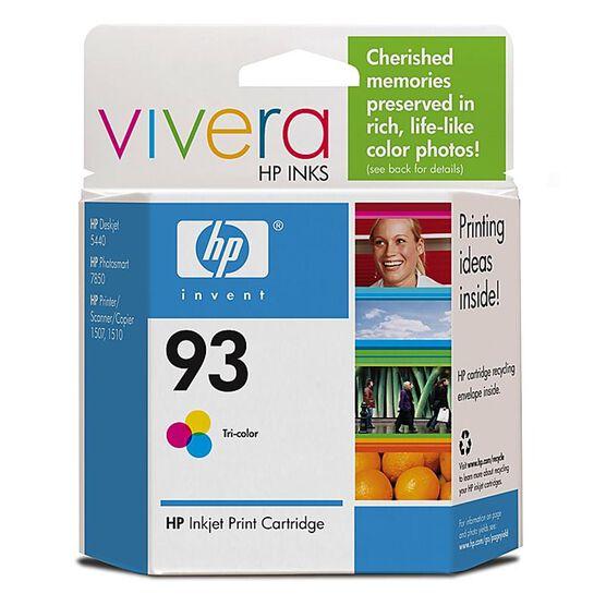HP 93 Vivera Ink Cartridge - Tri-Colour - C9361WC140