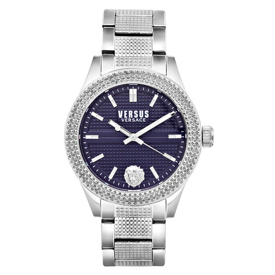 Versace Versus Bayside Ladies Watch - Silver/Blue - SOJ120016