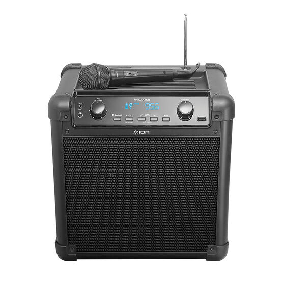 Ion Tailgater Bluetooth Speaker - Black - IPA77