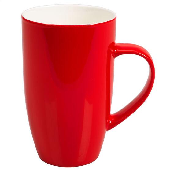London Drugs Porcelain Glazed Mug - Red
