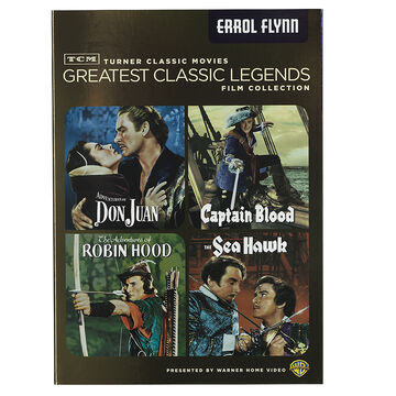 Tcm Greatest Classic Films Legends: Errol Flynn - DVD
