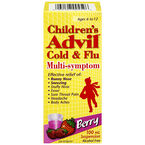 Advil Children's Cold and Flu Multi-symptom Suspension - Berry - 100ml