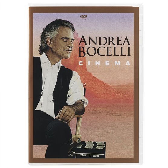 Andrea Bocelli: Cinema - DVD