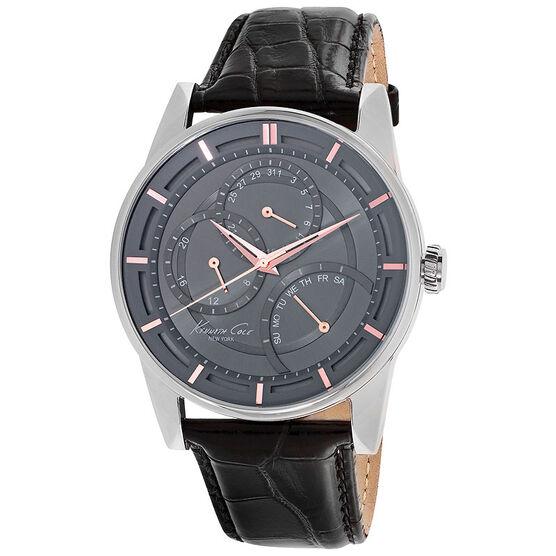 Kenneth Cole Dress Sport Watch - Black/Silver - 10020813