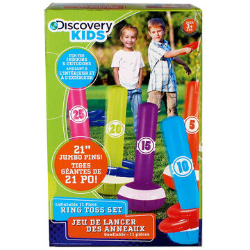Discovery Kids Inflatable Ring Toss Set