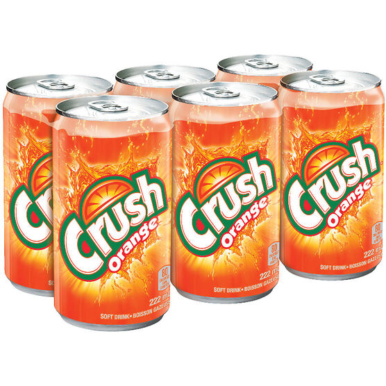 Crush - Orange - 6 x 222ml