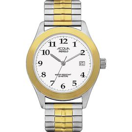 Timex Acqua Men's Quartz Analogue Watch - Gold/Silver - 64041