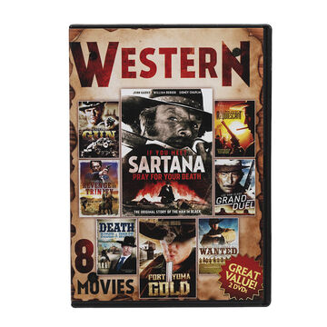 8 Movie Western Collection - DVD