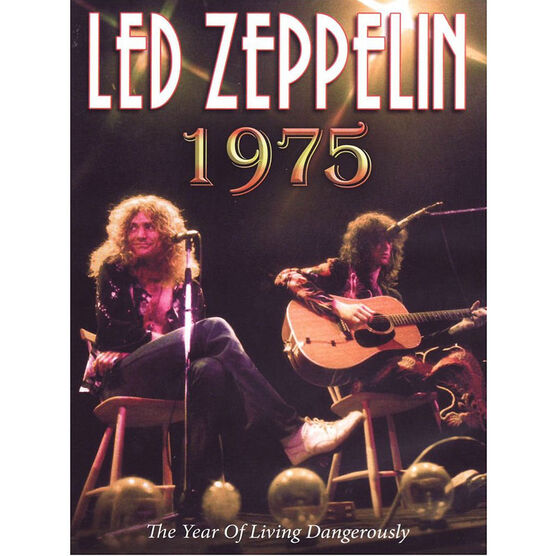 Led Zepplin: 1975 The Year Of Living Dangerously - DVD