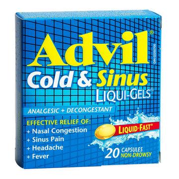 Advil & Cold Sinus Liqui-Gels - 20's
