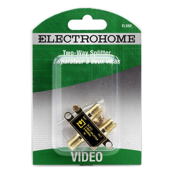 Electrohome 2-way Video Splitter - ELS60