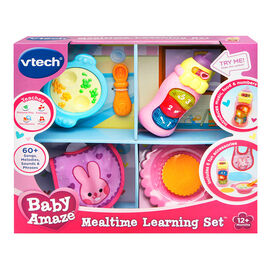Baby Amaze Mealtime Learning Set