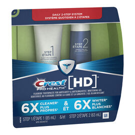 Crest Pro-Health HD 2 Step Toothpaste & Whitening Gel - 148ml