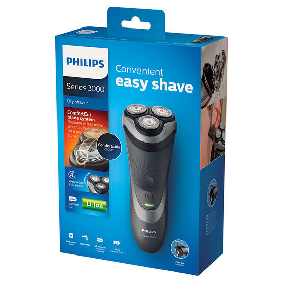 Philips Series 3000 Shaver - Black - S3510/08
