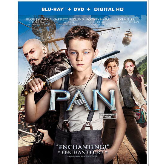 Pan - Blu-ray + DVD + Digital