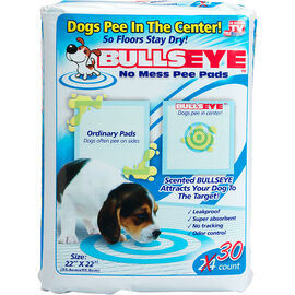 Bullseye No Mess Pee Pads - 30s