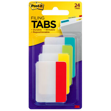 3M Post-it Filing Tabs - 24 tabs per pack