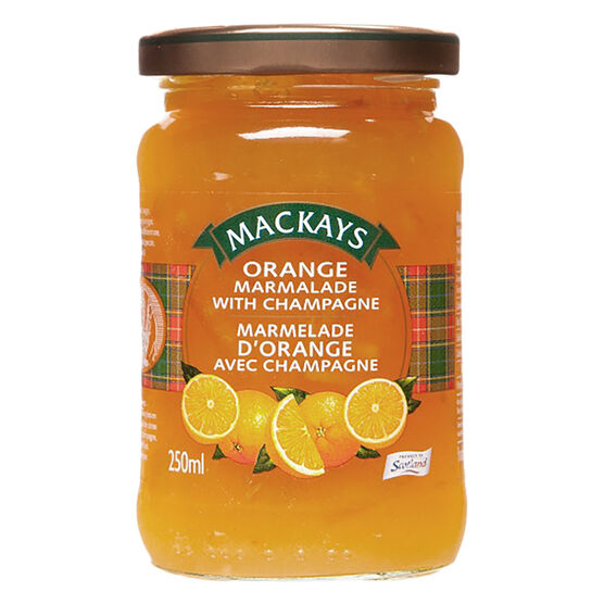 Mackays Marmalade - Orange with Champagne - 250ml