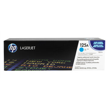 HP Color LaserJet Cyan Print Cartridge with ColorSphere Toner - CB541A