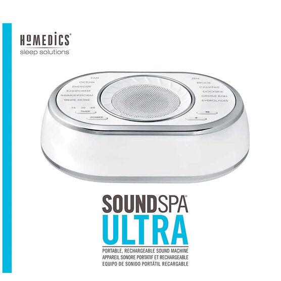Homedics SoundSpa Ultra Sound Machine - SS-6050-CA