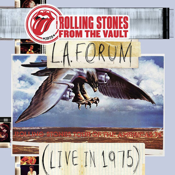 Rolling Stones, The - L.A. Forum: Live in 1975 - Vinyl