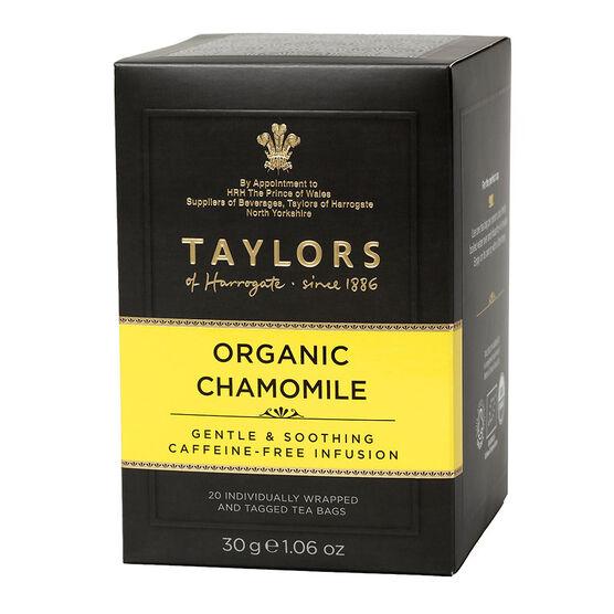 Taylors of Harrogate Tea - Organic Chamomile - 20's