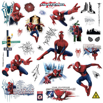 RoomMates The Amazing Spider-Man 2 Wall Decals