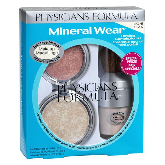 Physicians Formula Mineral Wear Flawless Complexion Kit - Light