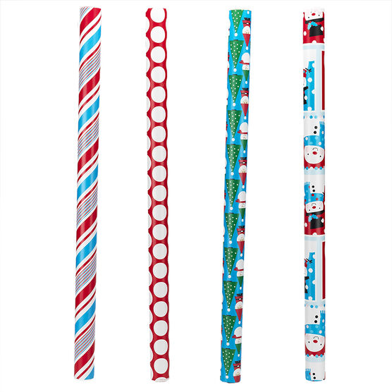 "Plus Mark Trendy Wrapping Paper - 30"" x 50"" - Assorted"