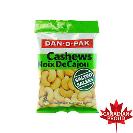 Dan-D-Pak Salted Cashews - 100g