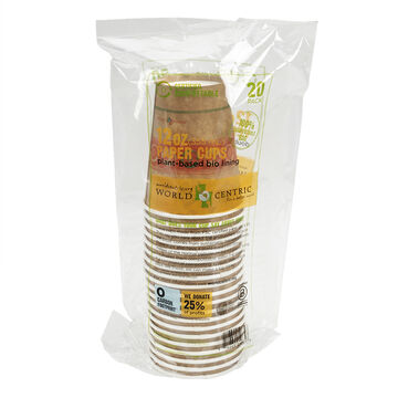 World Centric Compostable Papercups - 12oz