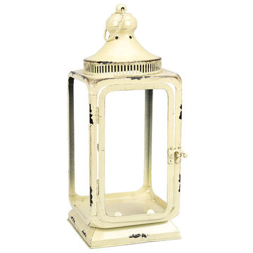 London Drugs Indoor Lantern - Cream