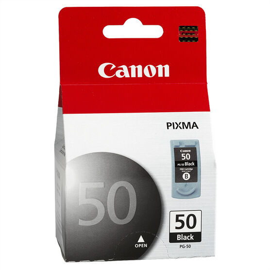 Canon PG-50 High Capacity Ink Cartridge - Black - 0616B002