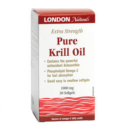 London Naturals Extra Strength Pure Krill - 1000mg - 30's