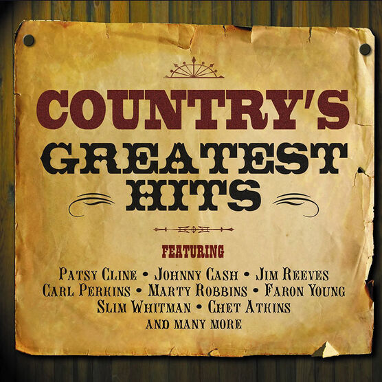 Various Artists - Country's Greatest Hits - 2 CD