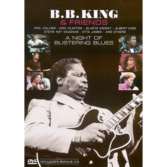 B.B. King: A Night of Blistering Blues - DVD