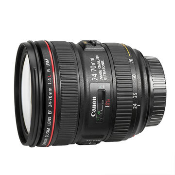 Canon EF 24-70mm f/4L IS USM Standard Zoom Lens - 6313B002