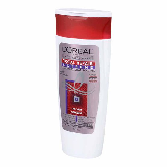 L'Oreal Total Repair Extreme Shampoo - 385ml