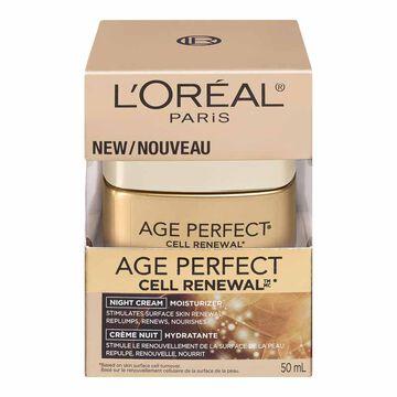 L'Oreal Age Perfect Cell Renewal Moisturizer Night Cream - 50ml