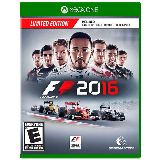 Xbox One Formula 1 Launch Edition