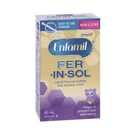 Enfamil Fer-In-Sol Drops - 50ml