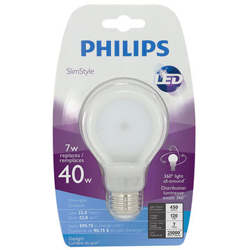 Philips Slimstyle LED - Daylight - 7W-40W