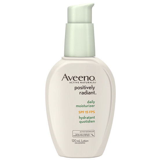 Aveeno Positively Radiant Daily Moisturizer - SPF 15 - 120ml