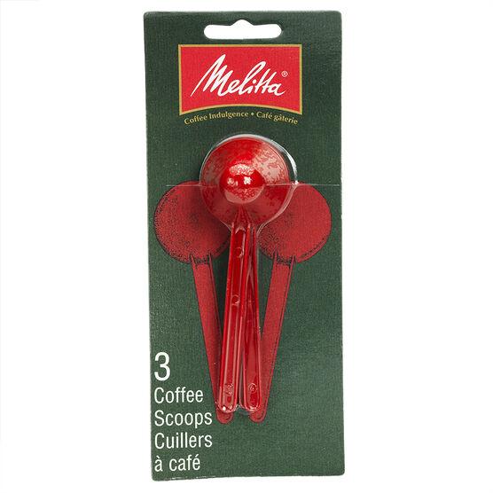 Melitta Coffee Scoops - 3 pack