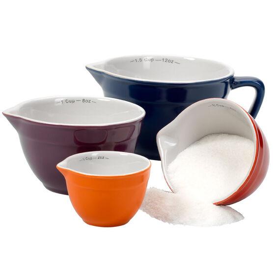Anchor Hocking Ceramic Measure Cup Set - 4 piece