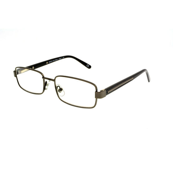 Foster Grant Tommy Reading Glasses with Case - Gunmetal - 1.25