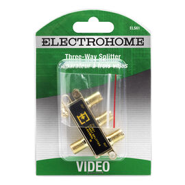 Electrohome 3-way Video Splitter - ELS61
