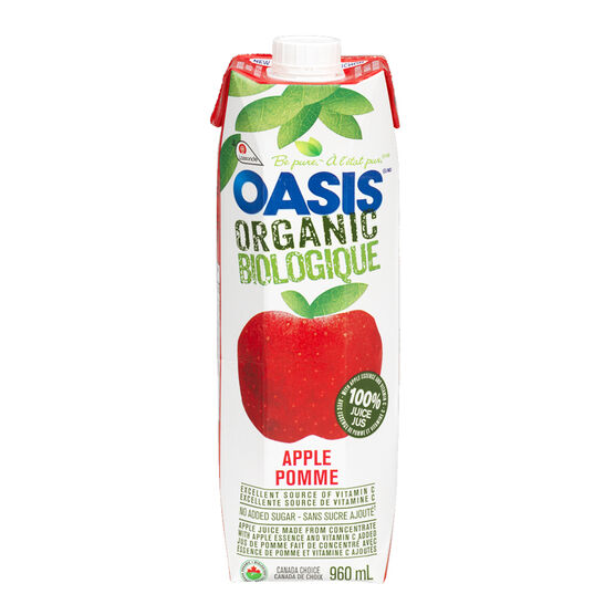 Oasis Organic Juice - Apple - 960ml